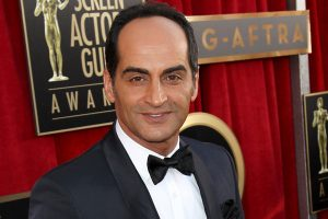 Navid Negahban arrives at the 19th Annual Screen Actors Guild Awards at the Shrine Auditorium in Los Angeles on Sunday, Jan. 27, 2013. (Photo by Matt Sayles/Invision/AP) ** Usable by LA and DC Only **
