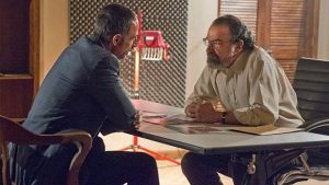Shaun Toub's and Mandy Patinkin in Homeland (Image credit / Showtime)