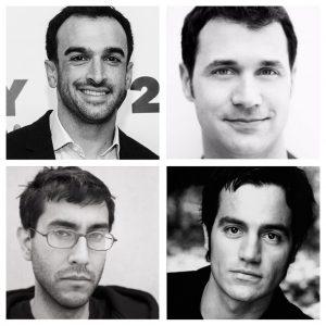 Clockwise R-L Ramin Setoodeh, Ramin Djawadi, Ramin Karimloo, and Ramin Bahrani