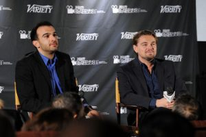 Ramin Setoodeh with Leonardo DiCaprio at event for Variety (Image Credit Variety)